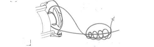 Универсальный рыболовный узел.