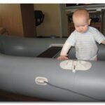 Первый опыт эксплуатации и ремонта лодки из пвх.